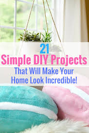 Easy Bedroom Diy The 25 Best Diy Room Decor Ideas On Pinterest