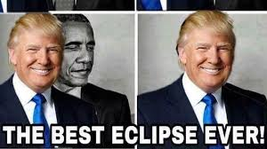 Proud Face Meme - donald trump retweets meme that shows him eclipsing barack
