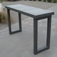 Concrete Console Table Meridian Concrete Console Table Todd Mcmurray Design