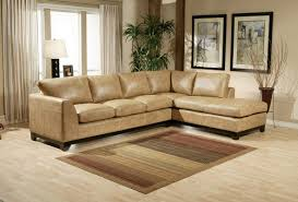 Omni Leather Furniture Omnia Leather City Sleek Leather Sectional Wayfair
