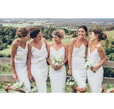 wedding wishes dresses bridesmaids something blue white bridesmaid