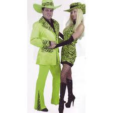 Pimp Halloween Costume Lime Mac Daddy Suit Costume Pimp Costumes