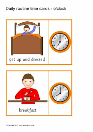 daily routine teaching resources u0026 printables for early years