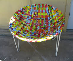 Plastic Chairs Patio Woven Patio Chair 8 Steps With Pictures