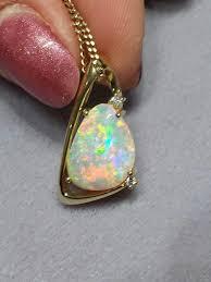 turquoise opal australian light opal jewellery u2013 gold set u2013 mineshaft canberra