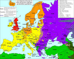 World Religions Map Map Of Religions In Europe In French 1002 X 795 Imgur