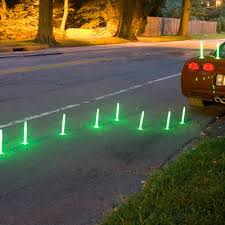 tall halloween glow sticks with standing base pack of 12