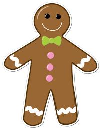 gingerbread man free printable gingerbread clip art image 2