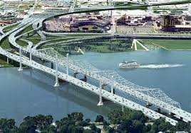 Ohio River On Map by Media Press Kit Ohio Bridges