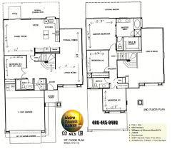 4 bedroom floor plans 2 story underground house plans 4 bedroom lovely 57 2 story house floor