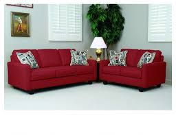 Red Sofa Slipcovers Bernards 2806s 2806l Graham Red Sofa And Loveseat