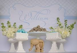 Baptism Decorations Boy Christening Party Ideas For A Boy Baby Baptism