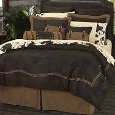 Chocolate Bed Linen - southwest bedding touch of class