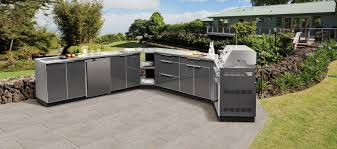 Outdoor Kitchen Aluminum NewAge CA - Outdoor kitchens cabinets