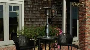 table top gas patio heaters stainless steel table top patio heater 60262 youtube