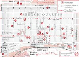 maps orleans quarter map with attractions orleans maps