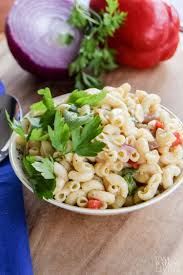 Pasta Salad Recipe Mayo by Easy Pasta Salad With Olive Oil Casa Watkins Living
