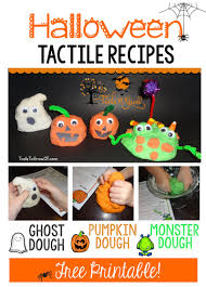 halloween tactile recipes blog tools to grow inc