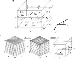 hydrodynamic forces induced by transient sloshing in a 3d