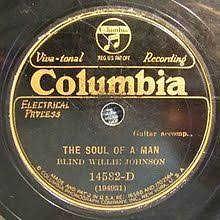 Blind Willie Johnson Soul Of A Man Song Wikipedia