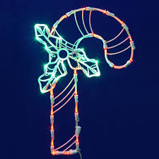 Outdoor Candy Cane Lights by Led Outdoor Christmas Decorations Christmas Decorations Etc