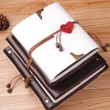 handmade leather photo albums pu leather 30 black paper sheets card theme wedding diy album