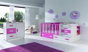 chambre pour bébé fille chambre enfant chambre bebe moderne violet blanc 34 idées