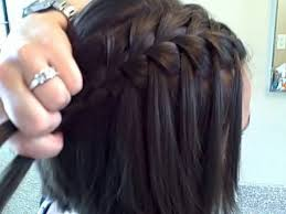 plated hair styles the waterfall braid diy cute girls hairstyles youtube