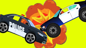 monster truck crashes videos police cars crashes and best monster truck for children