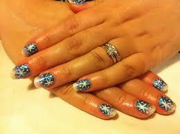 nail art with shellac best nail 2017 shellac glitter nail designs