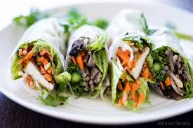 rice paper wrap rice paper rolls with tofu passionately keren