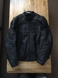 mens leather moto jacket furygan dark evo men u0027s leather motorcycle jacket as new in