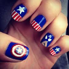 captain america nail art google keresés 31 weeks nail
