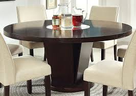 round table with lazy susan built in dining room table with lazy susan pantry versatile
