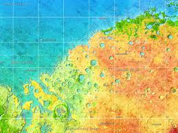 Mars Map Mars 2 0 Return To The Red Green And Blue Planet 3develop