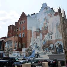 Philadelphia Mural Arts Map by The Beasley Building Mural Association For Public Art