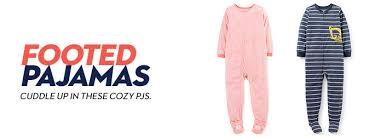 footed pajamas shop footed pajamas macy s