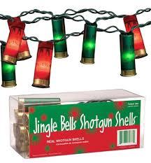 shotgun shell christmas lights indoor string lights keystone products jingle bells shotgun shells