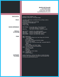 film resume examples custom and unique artistic resume templates for creative work custom and unique artistic resume templates for creative work image name