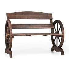 panchine legno panche e panchine marrone in legno per l arredamento da esterno ebay