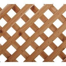 diagonal heavy duty cedar lattice capitol city lumber