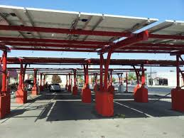 carport solar pre engineered and pre fabricated commercial