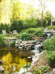 Backyard Waterfall Ideas 35 Dreamy Garden With Backyard Waterfall Ideas Home Design And