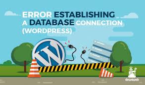 cara membuat database dengan mysql front cara mengatasi error establishing a database connection wordpress