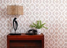 Floral Wall Stencils For Bedrooms 221 Best Moroccan Wall Stencils U0026 Design Images On Pinterest