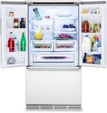 viking rvrf3361ss 36 inch counter depth french door refrigerator