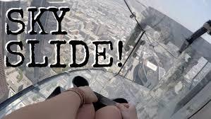 1 000 ft tall slide los angeles ca youtube