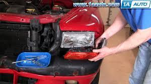 dodge dakota fog light install how to install replace parking light dodge dakota durango 97 04