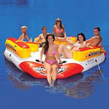 6 person max floating sofa neptune island sportsstuff videos