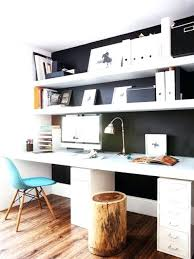 over desk shelving simple floating shelves over the desks bookshelves desk combo